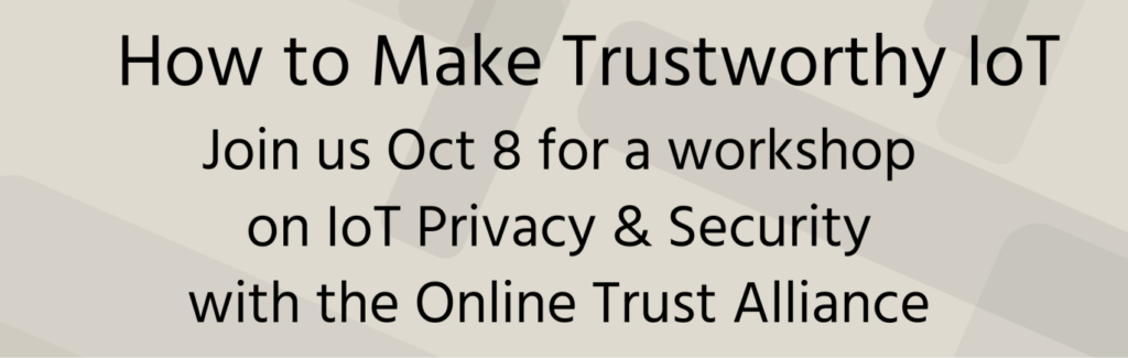 Trustworthy IOT 1