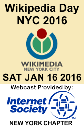 Wikiday NYC 2016